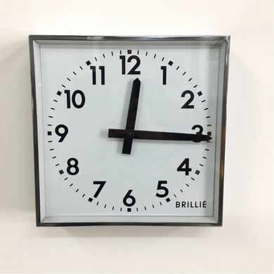 Square Brillie Wall Clock