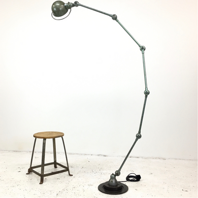 Vespa Green 5 Arm Jielde Lamp