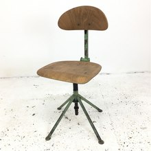 Load image into Gallery viewer, Vintage Czech Industrial Chair