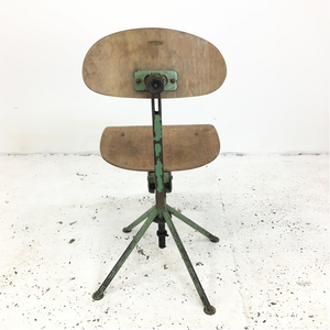 Vintage Czech Industrial Chair