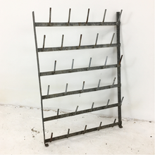 Load image into Gallery viewer, Vintage French Wall Bottle Dryer