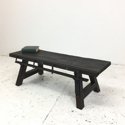 Vintage Workbench Industrial Coffee Table