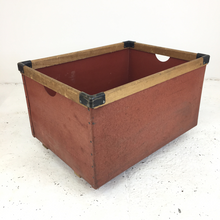 Load image into Gallery viewer, Vulcanised Vintage Laundry Bin