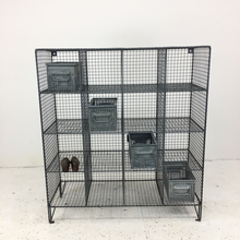 Load image into Gallery viewer, Wire Mesh Vintage Pigeon Hole Locker