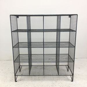 Wire Mesh Vintage Pigeon Hole Locker