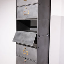 Load image into Gallery viewer, Single Roneo Metal Cabinet