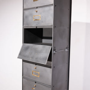 Single Roneo Metal Cabinet