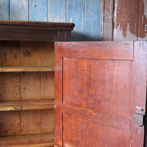 19th century pine cupboard