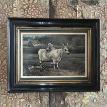 Load image into Gallery viewer, Edwardian Cow Print