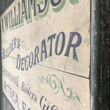 Load image into Gallery viewer, Early 20th Century Painted Trade Sign
