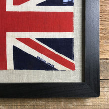 Load image into Gallery viewer, Vintage framed Union flag (No.12)