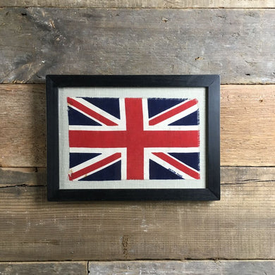 Vintage framed Union flag (No.13)