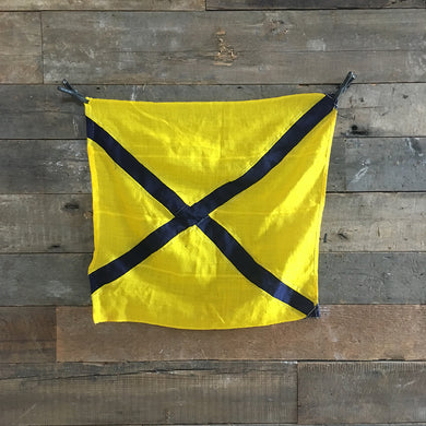Naval Signal Flag - Yellow