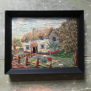 Vintage Woolwork Country Cottage
