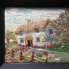 Load image into Gallery viewer, Vintage Woolwork Country Cottage