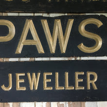 Load image into Gallery viewer, Edwardian Pawnbroker shop sign