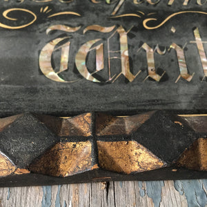 Victorian signwriter's trade sign - 'Strond'