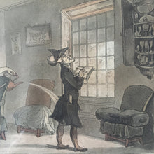 Load image into Gallery viewer, Pair of Rowlandson 'Dr. Syntax' prints, c.1812