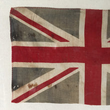 Load image into Gallery viewer, Vintage framed Union Flag c1918