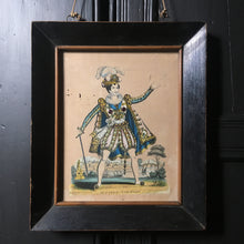 Load image into Gallery viewer, Victorian theatre tinsel print - 'Mr Parry'