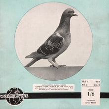 Load image into Gallery viewer, Vintage racing pigeon print – 'Combine Leader'