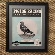 Load image into Gallery viewer, Vintage racing pigeon print – No.4 'Nantes Queen'
