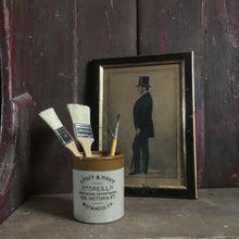Load image into Gallery viewer, Vintage Army & Navy Stores jar