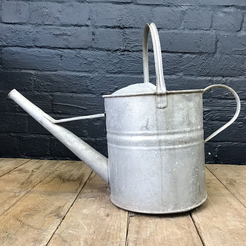 Galvanised 2 Gallon Watering Can - No. 3