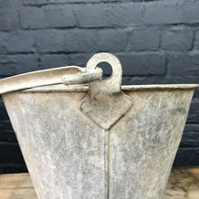Load image into Gallery viewer, Small Vintage Galvanised Bucket