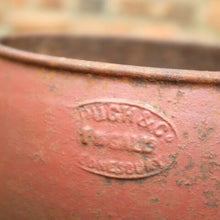 Load image into Gallery viewer, Vintage Red Iron Planter