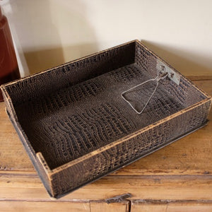 Vintage In-Box Filing Tray