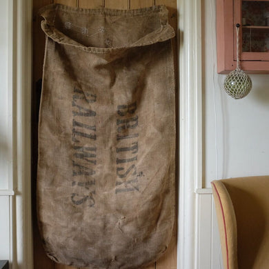 Vintage Pre-1965 British Railways Hessian Sack