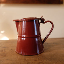 Load image into Gallery viewer, Vintage French Enamel Coffee Pot