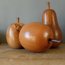 Load image into Gallery viewer, Vintage Wooden Apple - 1