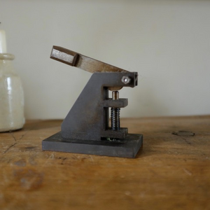 Vintage Industrial Factory Machine Made Hole Punch