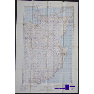 War Office Vintage OS Map - Scotland - Wick