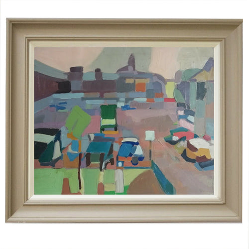 Mid-Century, French Abstract Painting