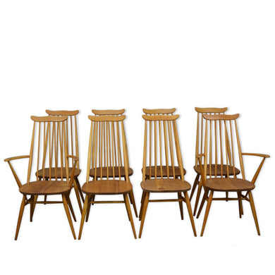 Mid Century Vintage 1960s Goldsmith Dinning Chairs by Ercol