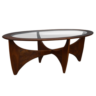 Mid Century Vintage 1960s Oval Astro Coffee Table by G Plan