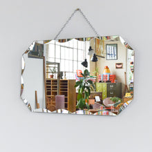 Load image into Gallery viewer, Vintage Octagon Frameless Bevelled Mirror