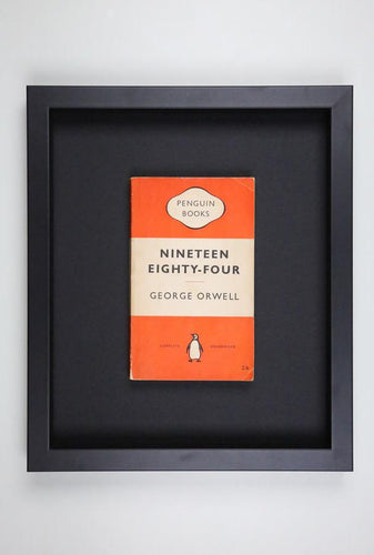 Nineteen Eighty Four - Framed Vintage Penguin