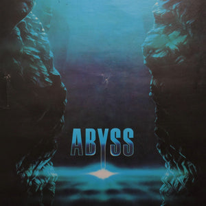 Original 80s Polish The Abyss Movie Poster