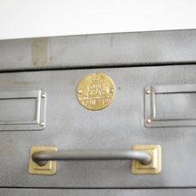 Load image into Gallery viewer, British Government Steel Filing Drawers Circa 1930s