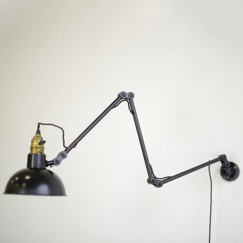 Wall Mounted German Task Lamp Circa 1940s