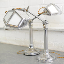 Load image into Gallery viewer, ART DECO DESK LAMPS BY PIROUETTE CIRCA 1930