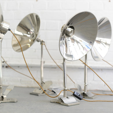 Swedish Task Lamps By Glory Circa 1930s