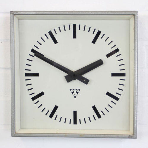 1960s Factory Clocks By Pragotron