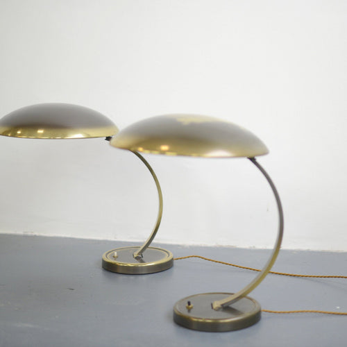 Kaiser Idell Model 6751 Table Lamps Circa 1950s