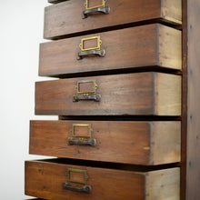 Load image into Gallery viewer, Tall Pine Workshop Drawers Circa 1930s