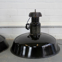 Load image into Gallery viewer, 1920s Large German Industrial Factory Pendant Lights